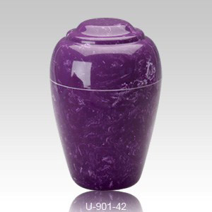 Purple Marble Cremation Urns