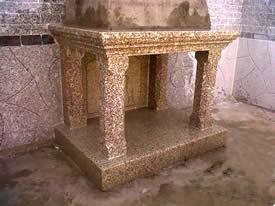 Granite Fireplace Mantel Campanario Yellow Granite