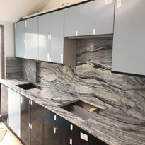 Viscount White Granite Kitchen Tops