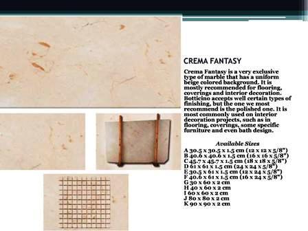 crema fantasy