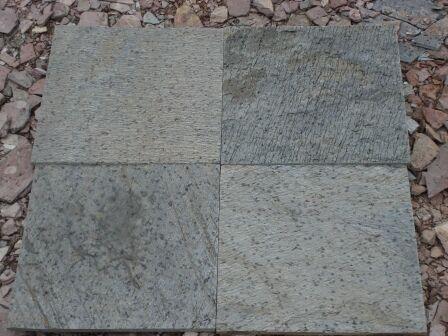 D Green slate stone