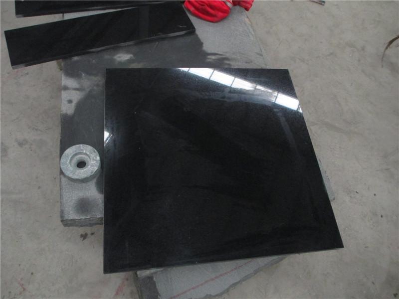 Chinese Shanxi Black Granite Tiles