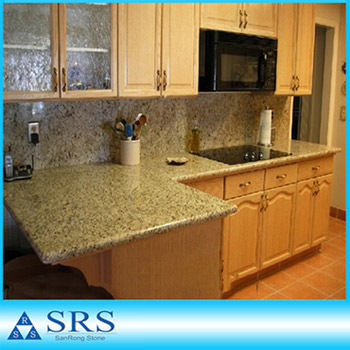 Giallo Ornamental Kitchen Countertop
