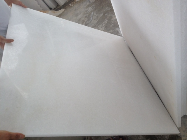 Cystal white marble