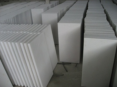 Pure crystal white Marble