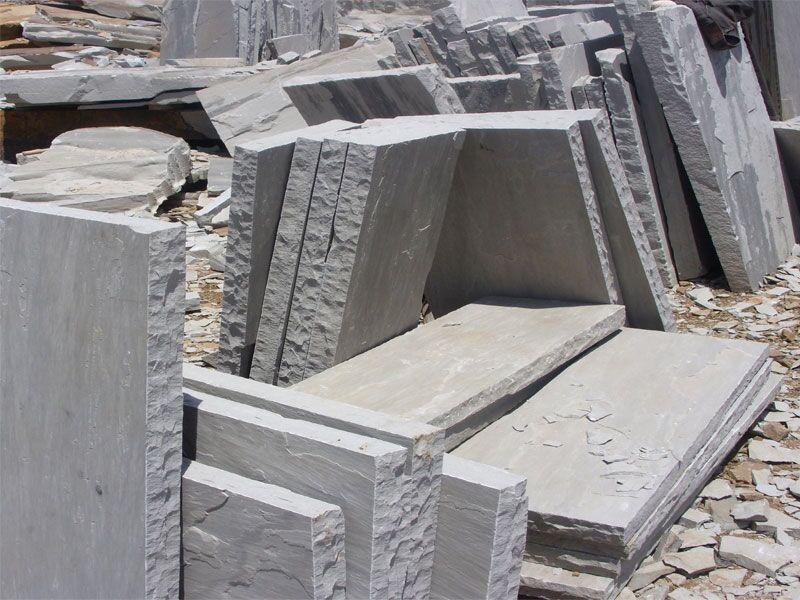 Kandla Grey sand stone slabs