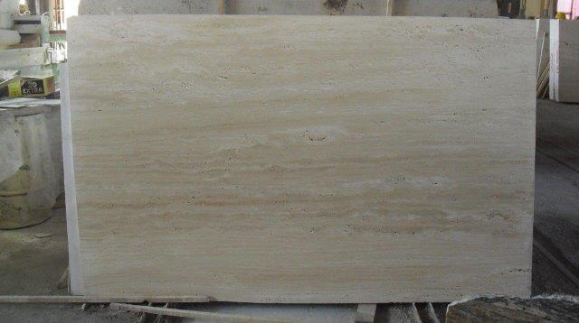Light Travertine Vein Cut Unfilled