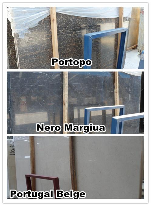 marble slab , Portopo black marble ,Nero Margiua
