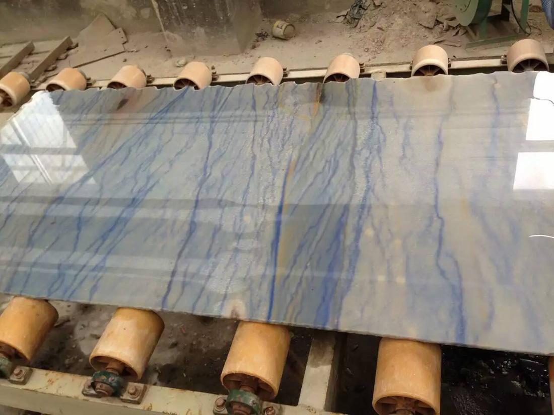 10mm Azul Macaubas Natura Blue Quartzite Slabs