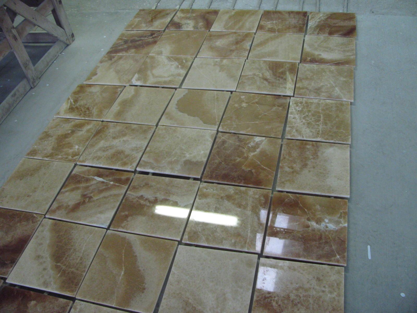 Brown Onyx Tile