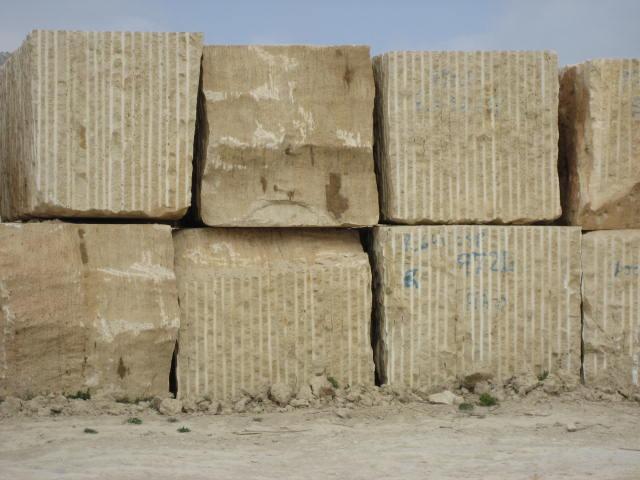 bloques limestone caramello