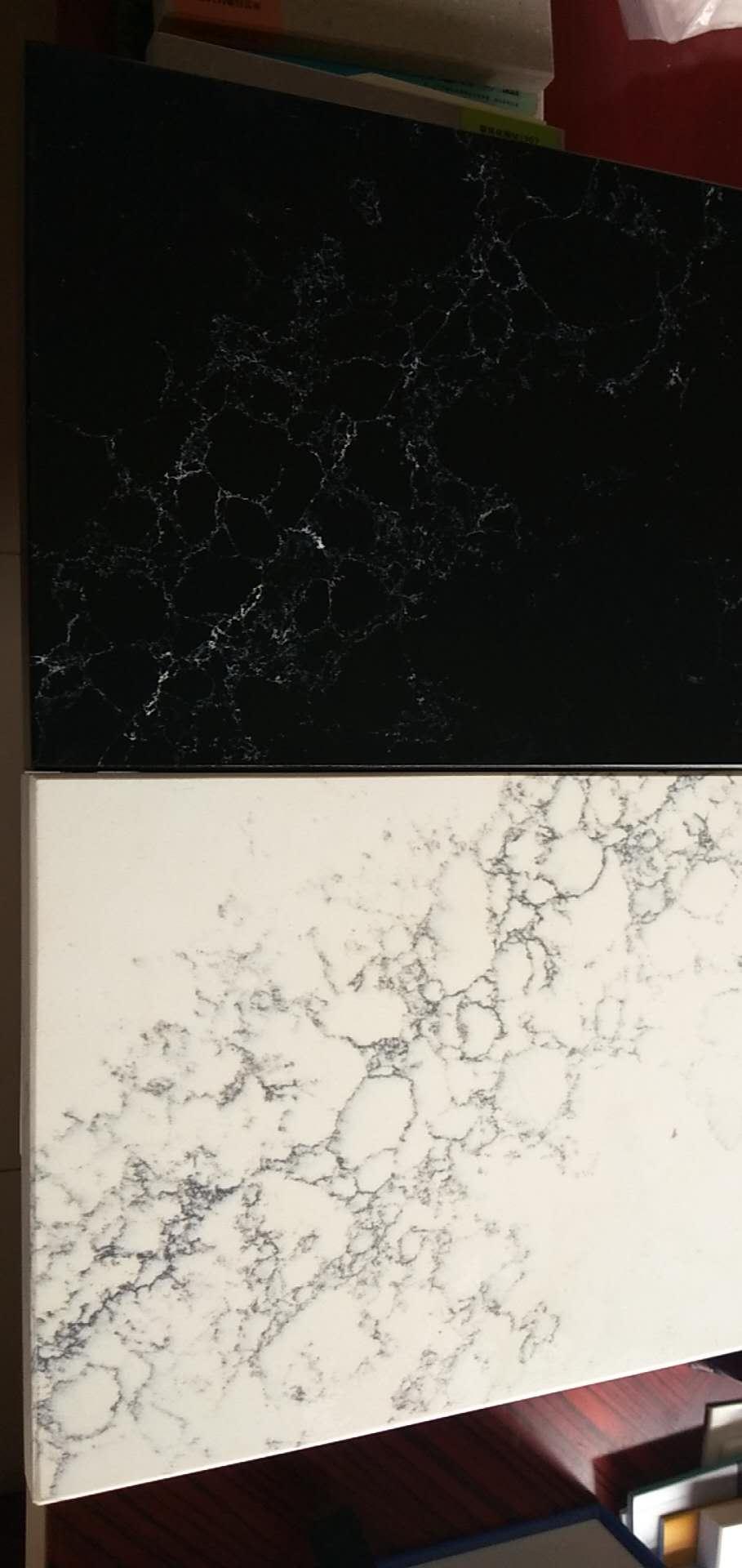 China Calacatta Quartz Stone Slab