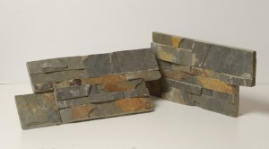 AMARILLO SLATE ON WIRE MESH