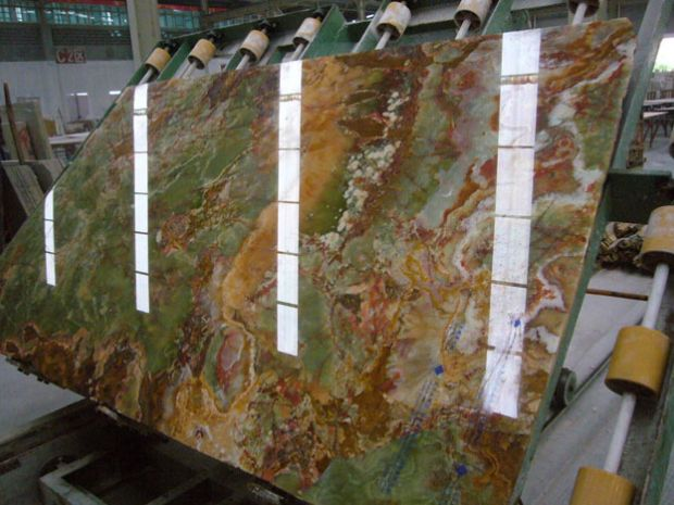 ANCIENT GREEN ONYX SLAB TILE Marble in Slabs Tiles