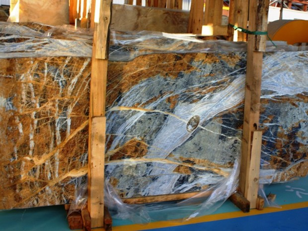 AZUL ORIENTALE MARBLE Marble in Blocks Slabs