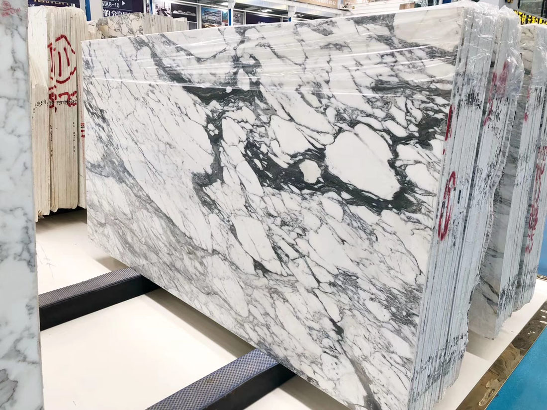 Abra White Marble Slabs Polished White Marble Slabs