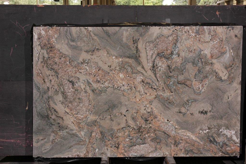 Abrolhos Green Granite Slabs