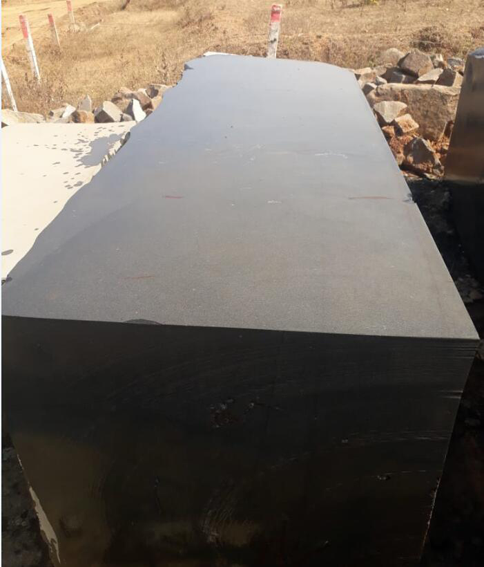 Absolute Black Granite Blocks Indian Black Natural Stone Blocks