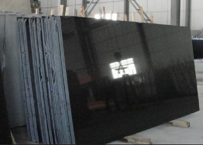 Absolute Black Granite Shanxi Black Granite Pure Black Granite Slabs