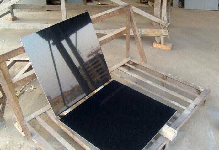 Absolute Black Granite Shanxi Black Granite Pure Black Granite Tiles