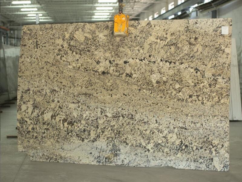 Absolute Cream 2cm Slabs Polished Beige Granite Slabs