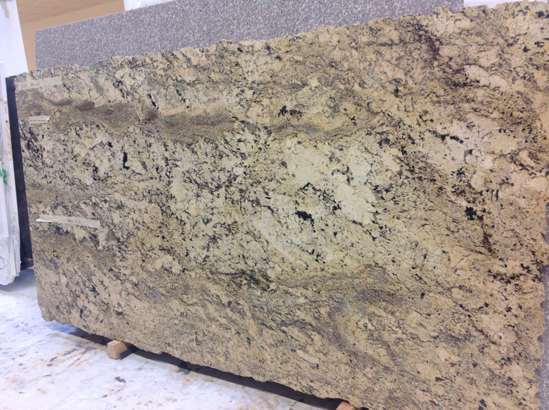Absolute Cream Granite Slab