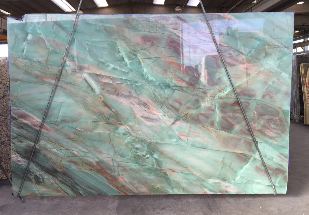 Acquarama Green Quartzite Slabs