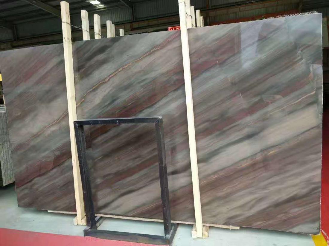 Acquarella Natural Brown Quartzite Slabs
