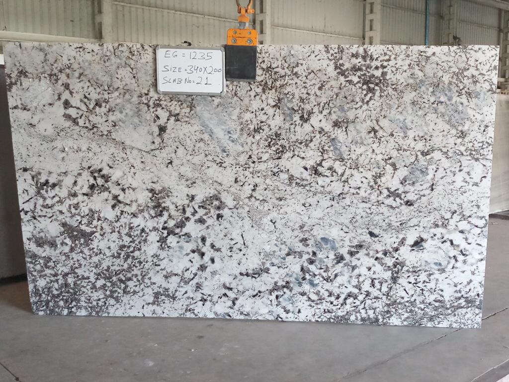 Affordable Alaska Blue Granite Polished Slabs