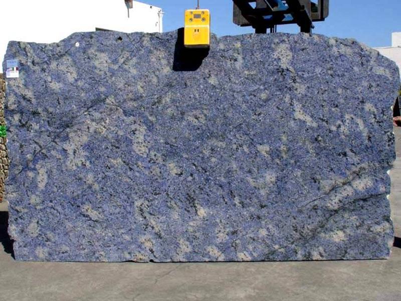 Affordable Azul Bahia Granite Slab Blue Granite Polished Slabs for Countertops