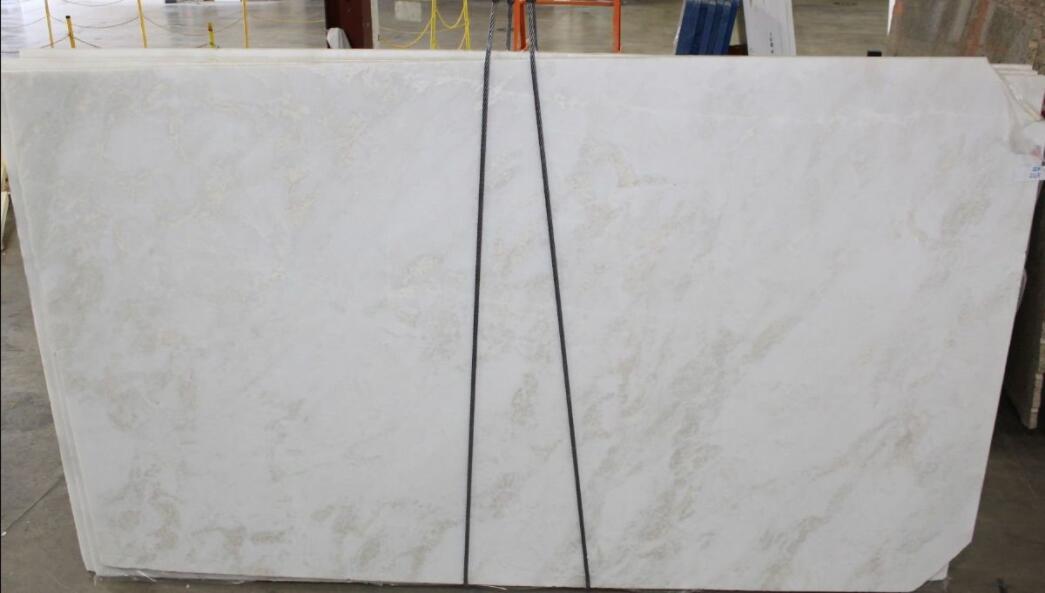 Affordable Bianco Rhino Marble Slabs White Polished Marble Slabs
