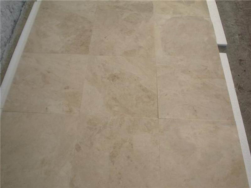 Affordable Cappucino Beige Tiles Polished Beige Marble Flooring Tiles