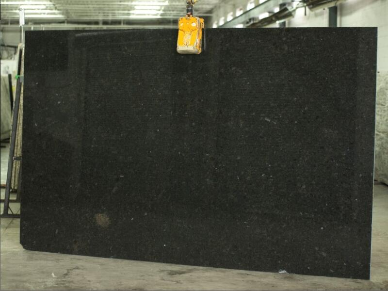 Affordable Coffee Brown Granite Polished Slabs for Kitchen Countertops