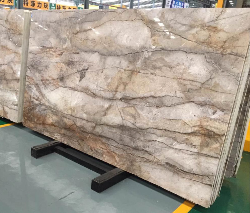 Affordable Flash Grey Marble Slabs