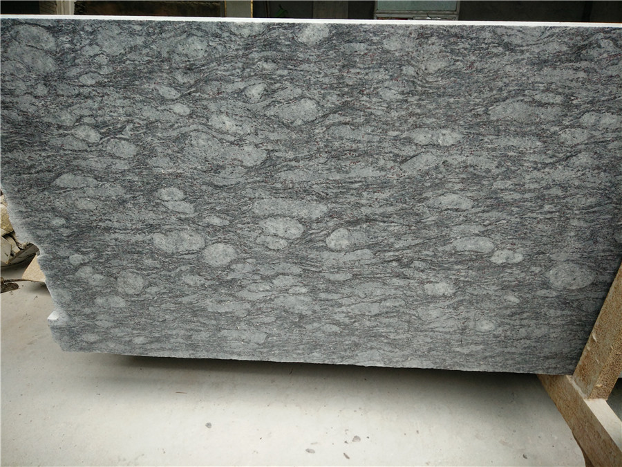 Affordable India Blue Granite Polished Granite Slabs