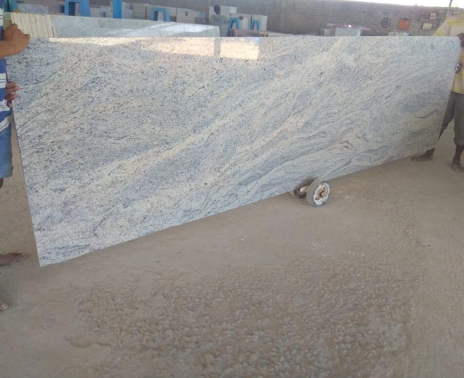 Affordable Kashmir White Granite Slabs Polished White Granite Slabs