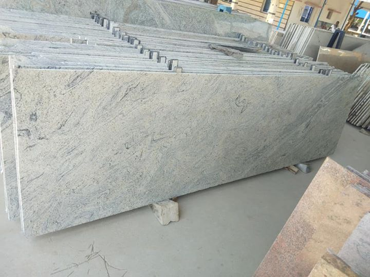 Affordable Mani White Granite Slabs Ivory White Granite for Kitchen Countertops