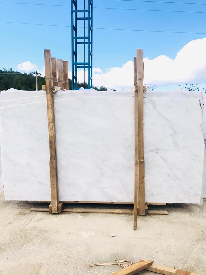 Affordable Mugla White Marble Slabs Turkish White Marble Slabs