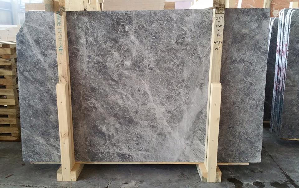 Affordable Tundra Grey Marble Polished Grey Marble Slabs