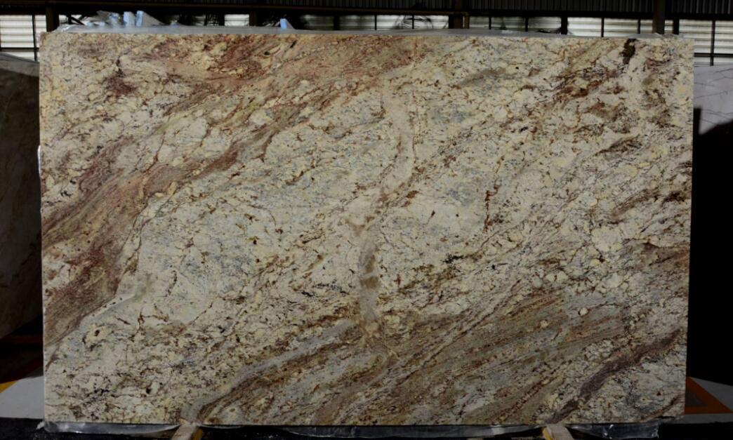 Affordable Typhoon Bordeaux Granite Slabs Beige Brazil Granite Slabs