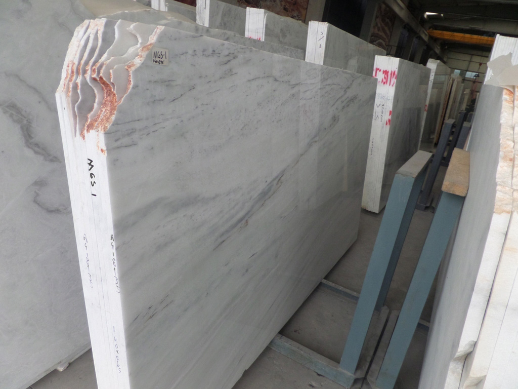 Affordable Volakas White Marble Slabs Turkish Premium White Polished Marble Slabs