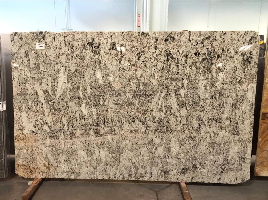 Affordable White Galaxy Granite Polished Slabs