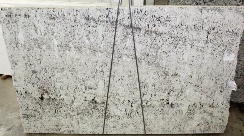 Affordable White Galaxy Granite Slabs for Kitchen Countertops