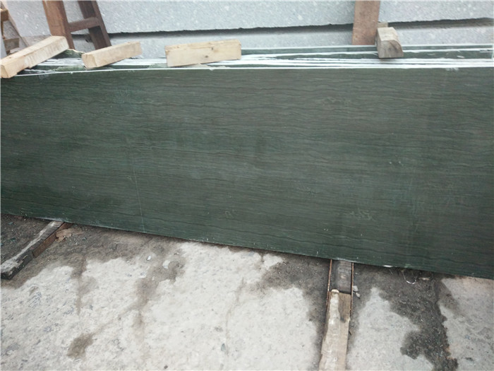 Affordable Wooden Green Marble Countertops