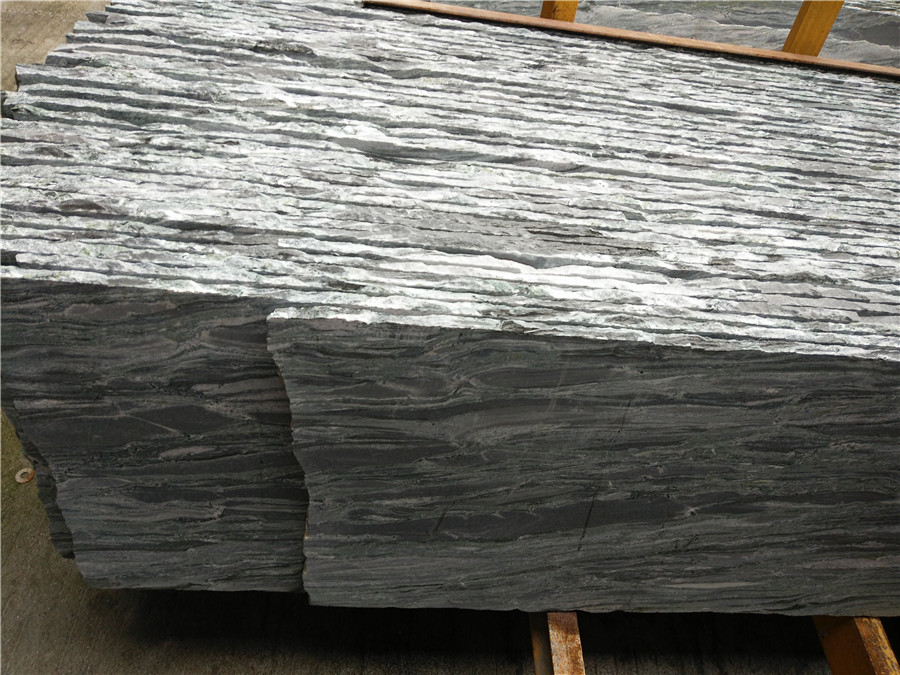 Affordable Yunnan Landscape Green Granite Countertops