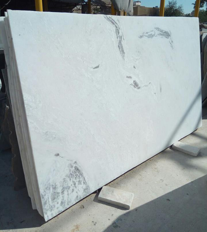 Afghan White Marble Slabs from Pakistan