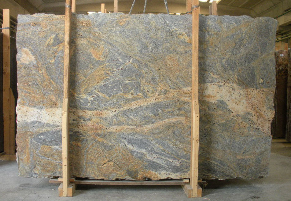 African Fantasy Granite Slabs Top Quality Granite Slabs for Countertops