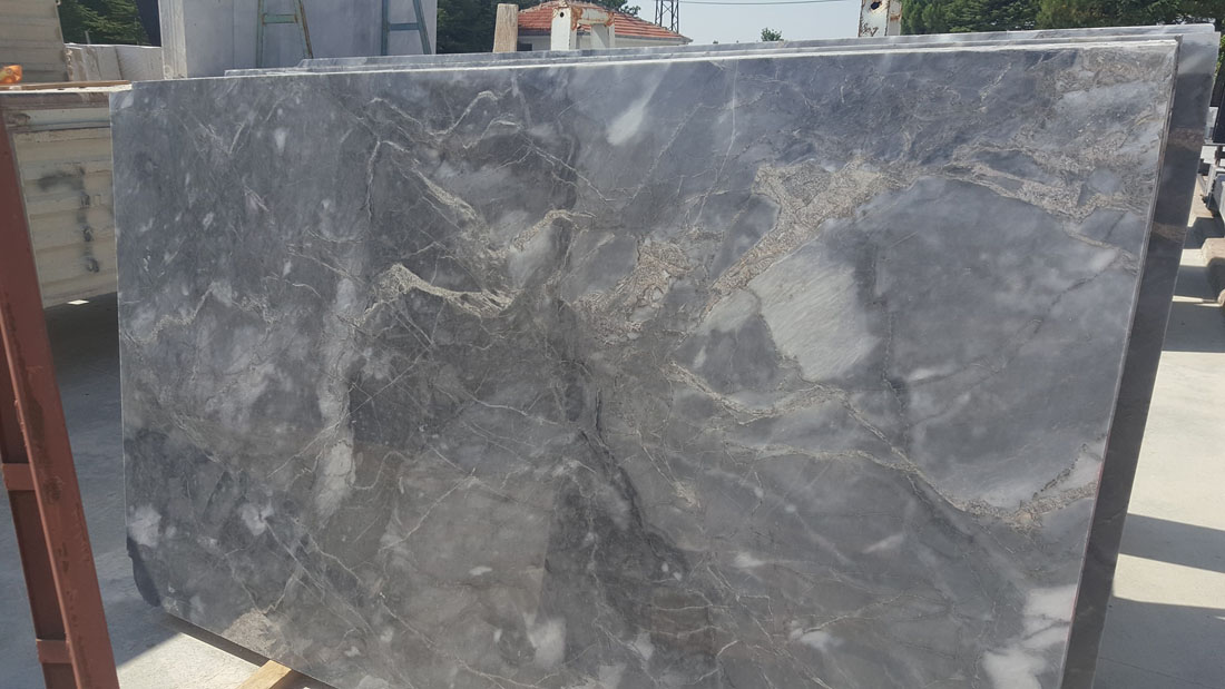 Afyon Black Marble Slabs from Turkey