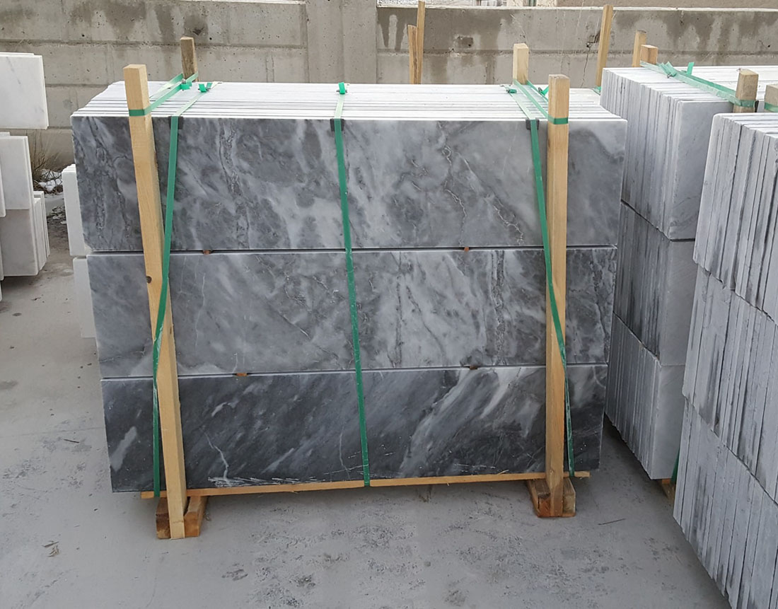 Afyon Black Marble Tiles Turkish Marble for Flooring Tiles
