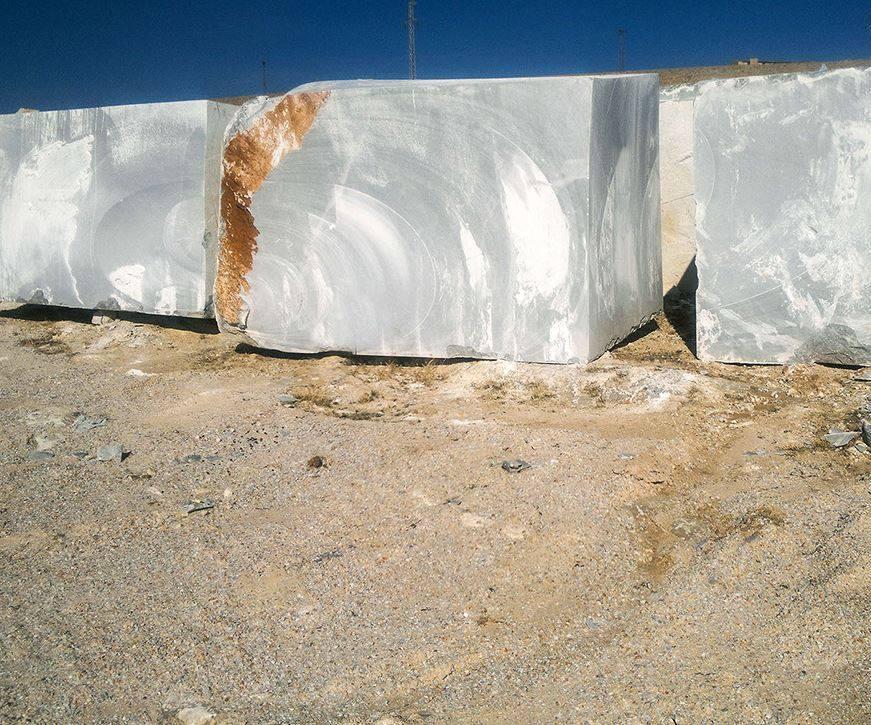 Afyon Grey Blocks Natural Marble Stone Blocks